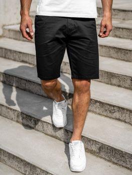 Черные мужские шорты Bolf 1140
