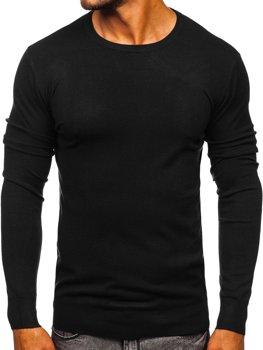 Черный мужской свитер Bolf YY01