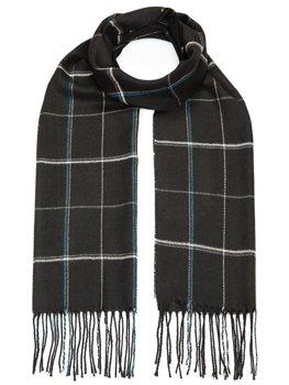 Черный мужской шарф Bolf YW08057
