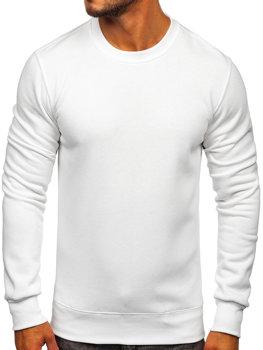 Чоловіча толстовка без капюшона біла Bolf 2001
