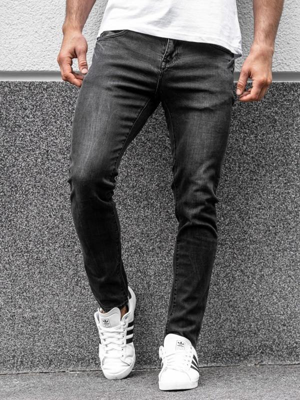 Джинсы мужские черные Bolf KX258