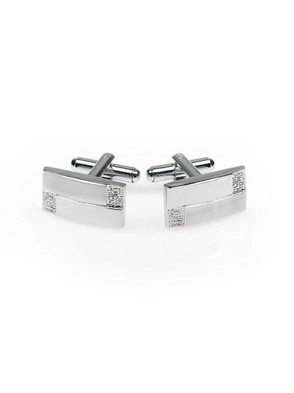 Запонки серебряные Bolf S011
