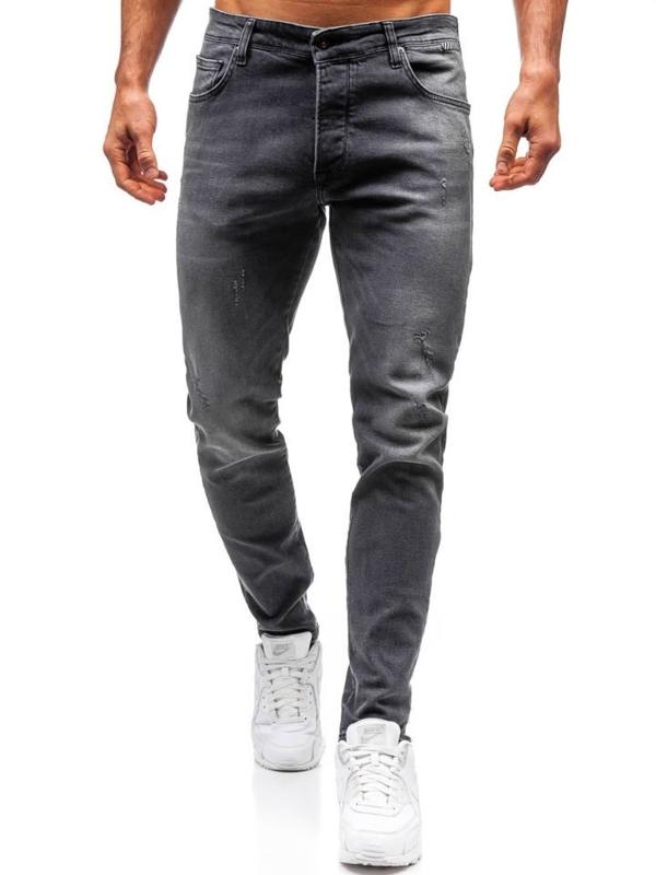 Мужские джинсовые брюки графитовые Bolf 7160