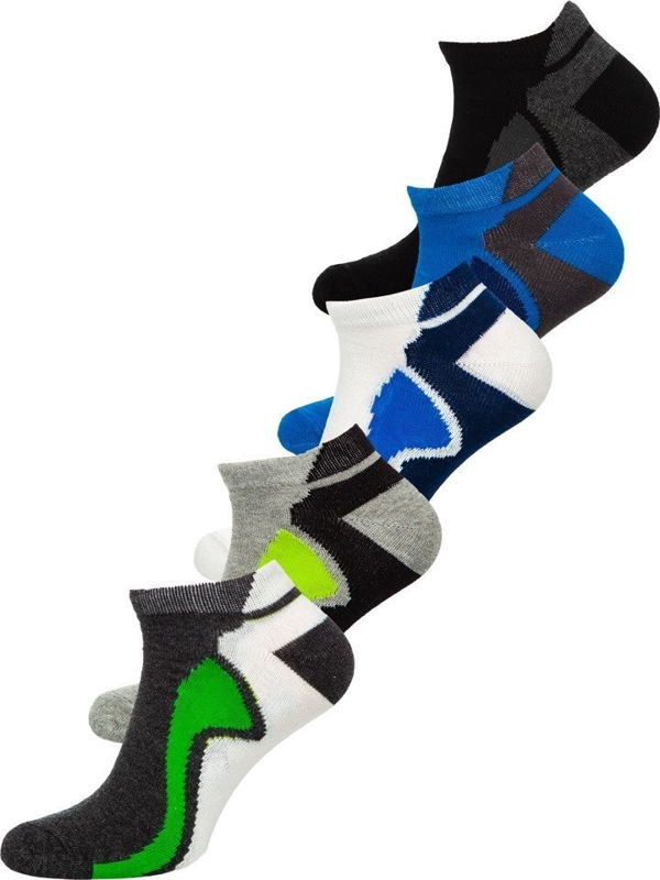 Мужские носки мультиколор Bolf X10049-5P 5 шт.