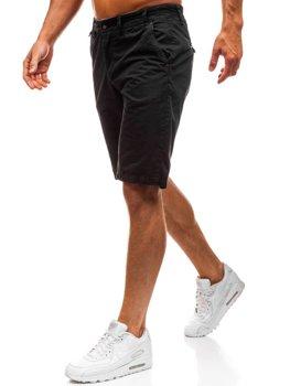 Мужские шорты черные Bolf 3020