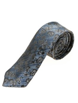 Мужской элегантный галстук синий Bolf K108