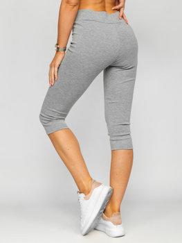 Серые женские шорты Bolf YW01045