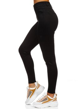 Черные женские леггинсы Bolf YW01039-C1