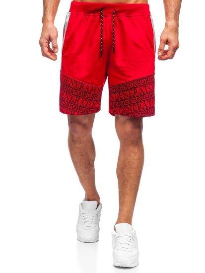 Красные мужские шорты Bolf KS2563