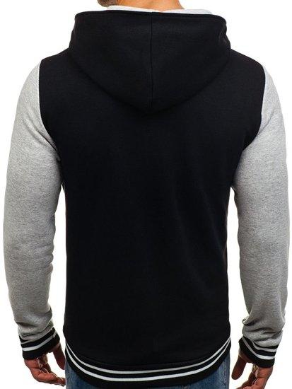 Мужская демисезонная куртка черная Bolf 07S