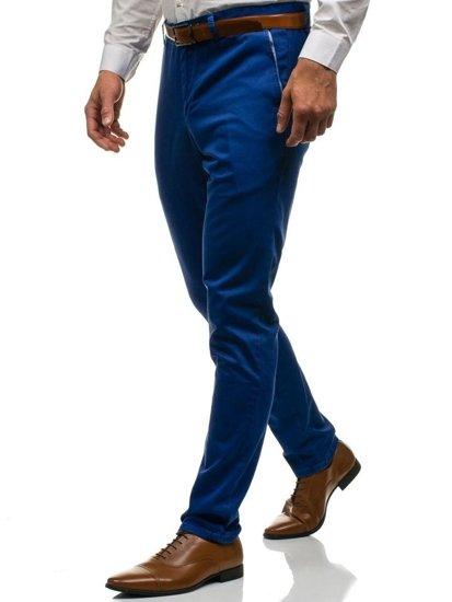 Мужские брюки синие Bolf 4326