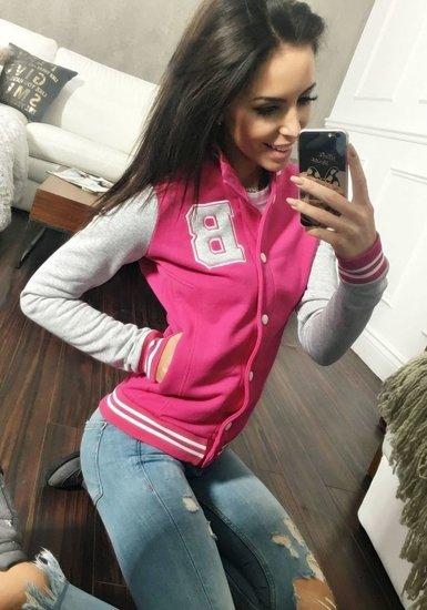 Розовая толстовка женская BOLF 19S