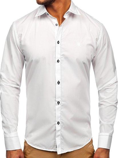 Рубашка мужская BOLF 4719 белая