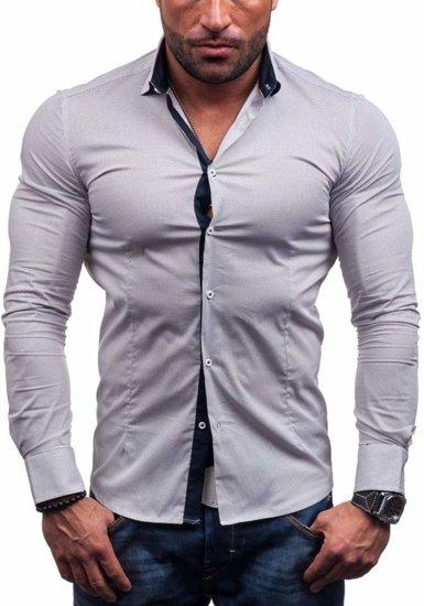 Рубашка мужская N. Men 7185 белая