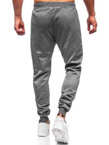 Графитовые мужские спортивные брюки Bolf K10238