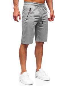 Мужские серые спортивные шорты Bolf JX512