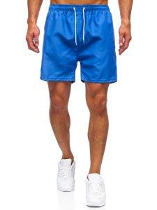 Светло-голубые мужские пляжные шорты Bolf YW02001