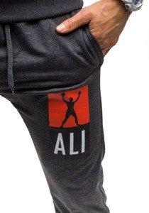 Спортивный костюм мужской ATHLETIC 0362 антрацит