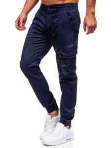 Темно-синие мужские брюки джоггеры карго Bolf CT6707S0