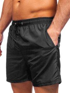Черные мужские пляжные шорты Bolf YW07002
