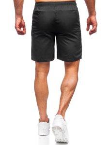 Черные мужские спортивные шорты Bolf HH037