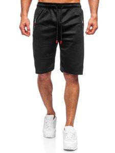 Черные мужские спортивные шорты Bolf JX201
