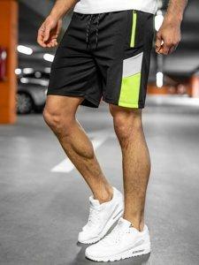Черные мужские спортивные шорты Bolf KS2605