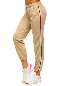 Бежеві жіночі спортивні штани Bolf YW01020A