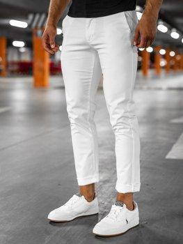 Білі чоловічі штани чіноси Bolf 1146