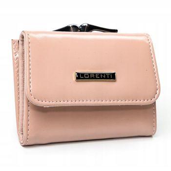 Жіночий шкіряний гаманець лосось 2862