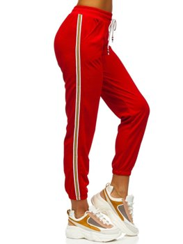 Жіночі червоні спортивні штани Bolf YW01020B