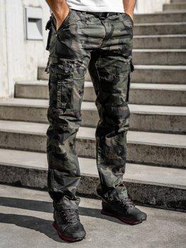 Зелені Чоловічі штани-карго з поясом Bolf 2096