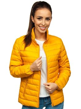 Кемел жіноча стьобана демісезонна куртка Bolf 20311