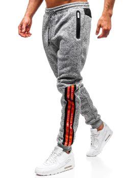 Мужские спортивные брюки серые Bolf Q3869