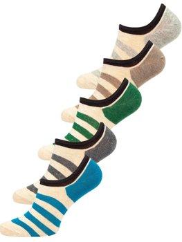 Різнокольорові чоловічі шкарпетки Bolf x10169-5P 5 PACK