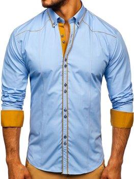 Сорочка чоловіча BOLF 4777 блакитна