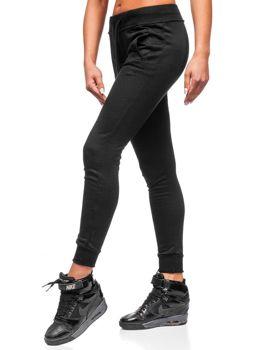 Спортивні штани жіночі чорні Bolf WB11003-А