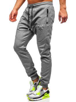 Сірі спортивні чоловічі штани Bolf Q1042