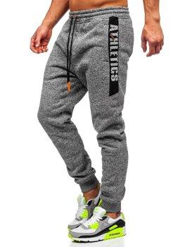 Сірі чоловічі спортивні штани Bolf TC512