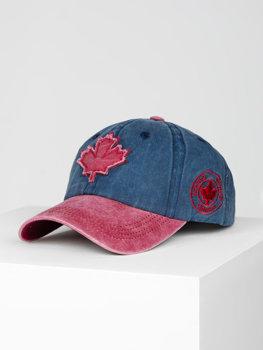 Темно-синя кепка, бейсболка Bolf CZ75