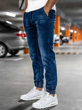 Темно-сині чоловічі джинси джоггери Bolf 51003W0