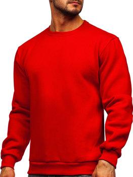 Червона чоловіча толстовка без капюшона Bolf 2001