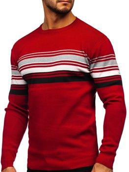Червоний чоловічий светр Bolf H2061