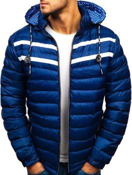 Чоловіча зимова куртка синя Bolf A132 СИНІЙ 1f6e73fbca4e3