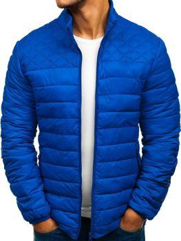 Чоловіча спортивна куртка демісезонна синя Bolf LY12 6e3a652085bf5