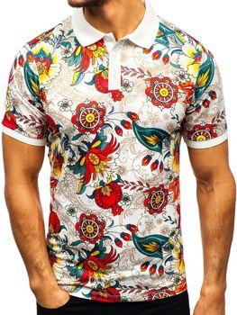 Чоловіча футболка поло мультиколор Bolf 9013 6272339861992