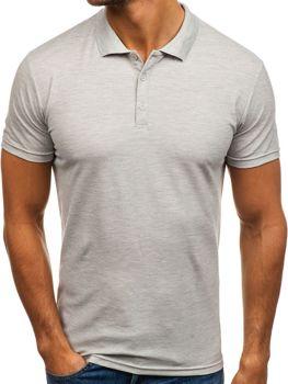 Чоловіча футболка поло сіра Bolf HS2005 47213d58d02ca