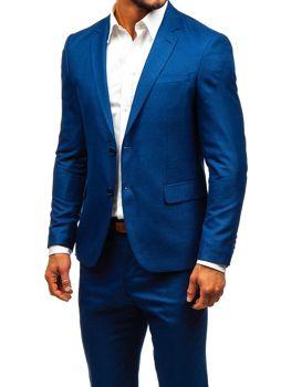 Чоловічий костюм темно-синій Bolf 19200-1