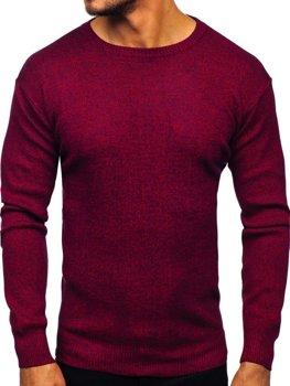 Чоловічий светр бордовий Bolf 8529