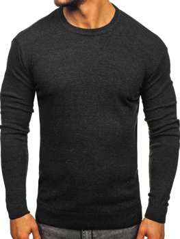 Чоловічий светр графітовий Bolf 0001
